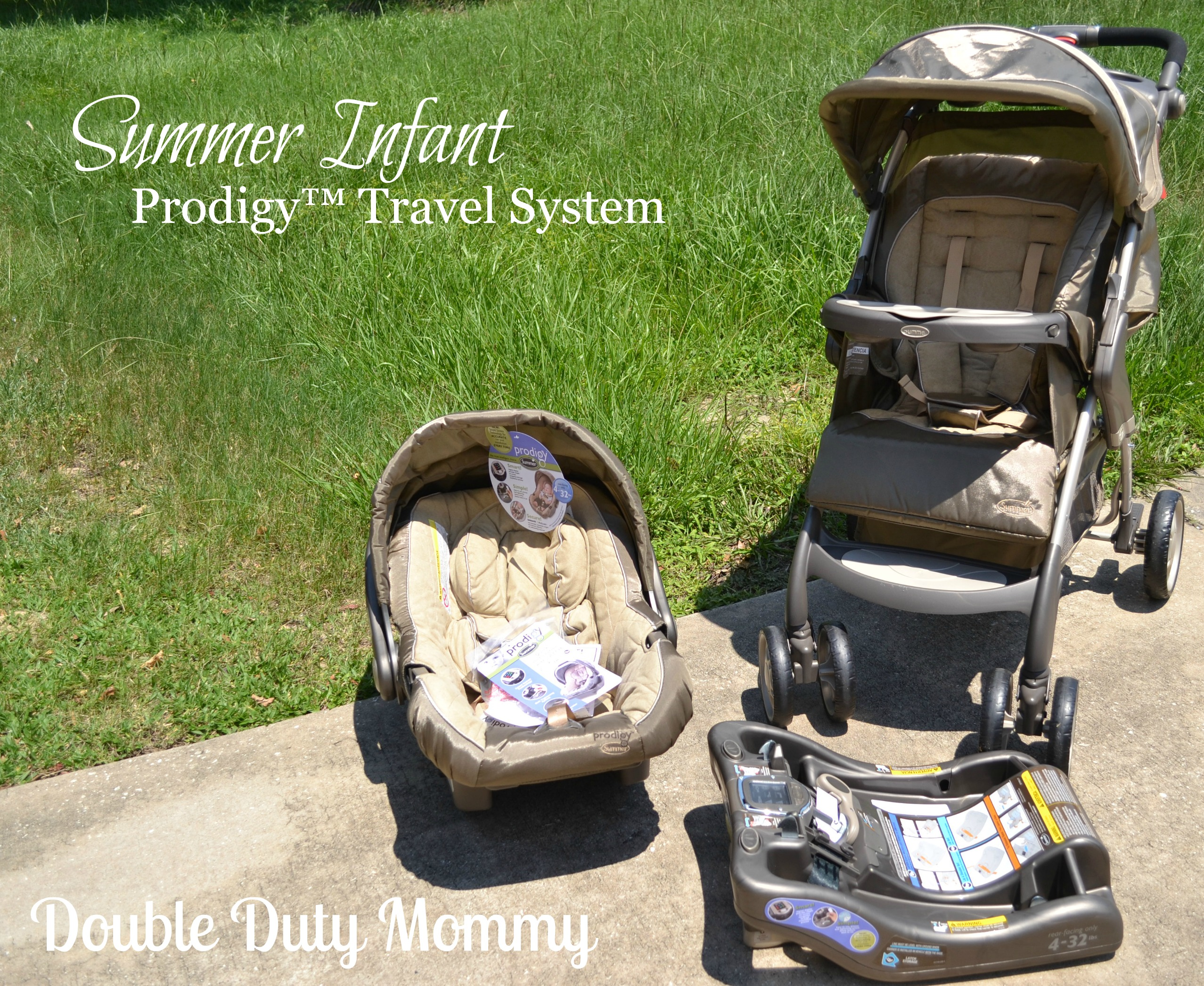 Summer Infant Prodigy Review And Giveaway Double Duty Mommy