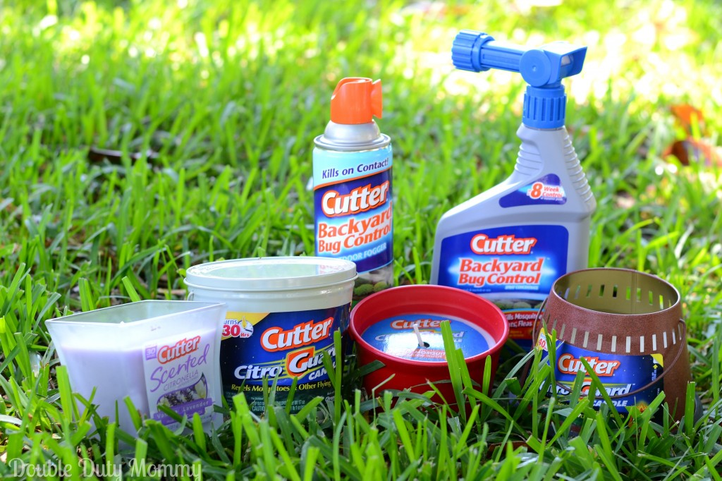 Cutter Insect Repellent Giveaway - Double Duty Mommy