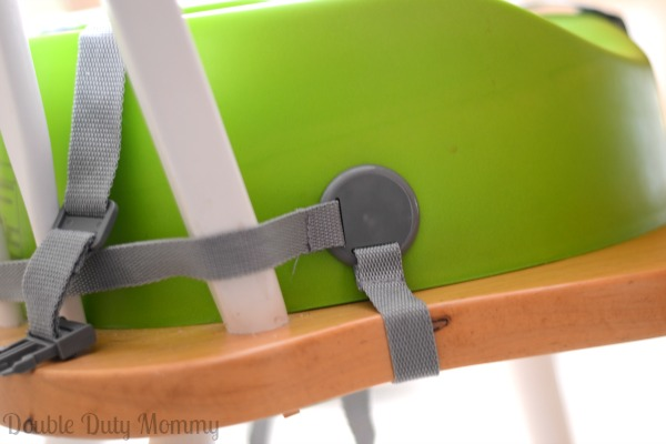 Bumbo Booster Seat - secure to chair