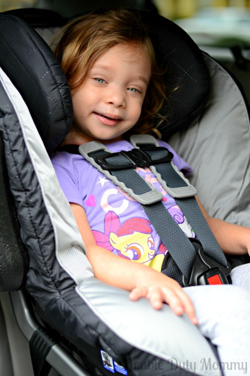 Britax Advocate UltimateComfort Series buckled up