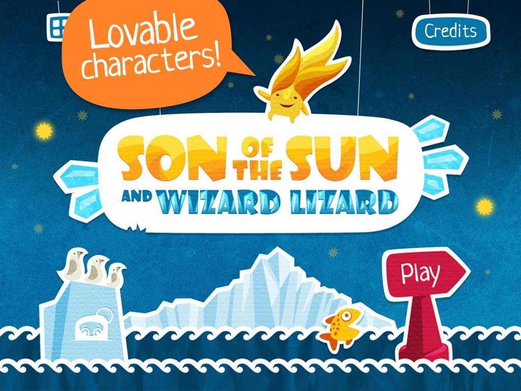 Son of the Sun and Wizard Lizard start