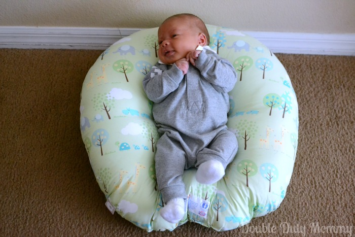 Loungin Around With The Boppy Newborn Lounger