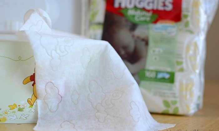 Natural Care wipes