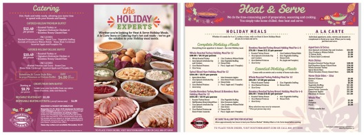boston market holiday meals