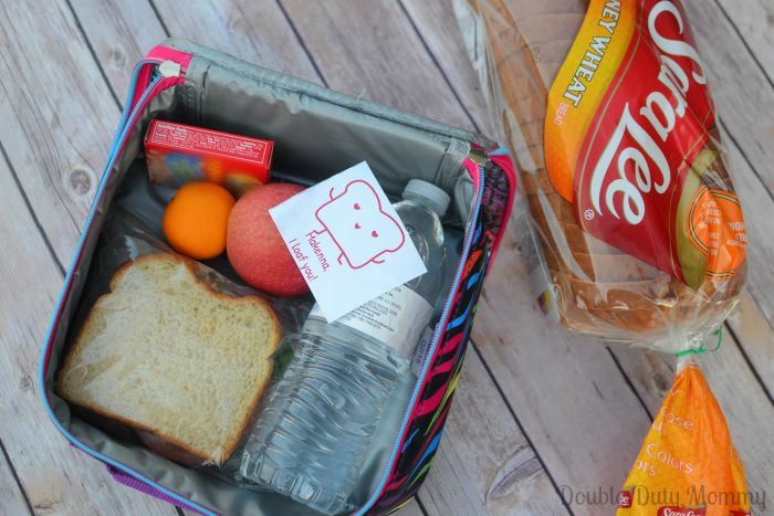 Lovable Lunch Notes from Sara Lee Bread #LovableLunch AD
