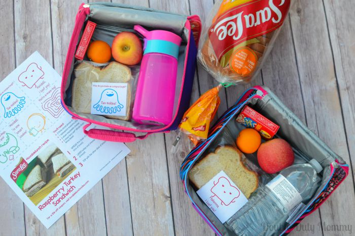 Sara Lee Lovable Lunch Notes #LovableLunch AD