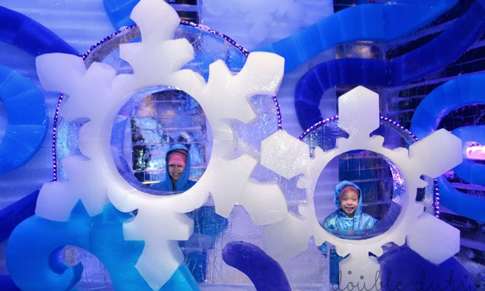 Experience The Icy Cold North in Orlando, Florida with ICE! at Gaylord Palms Resort #CAGP15