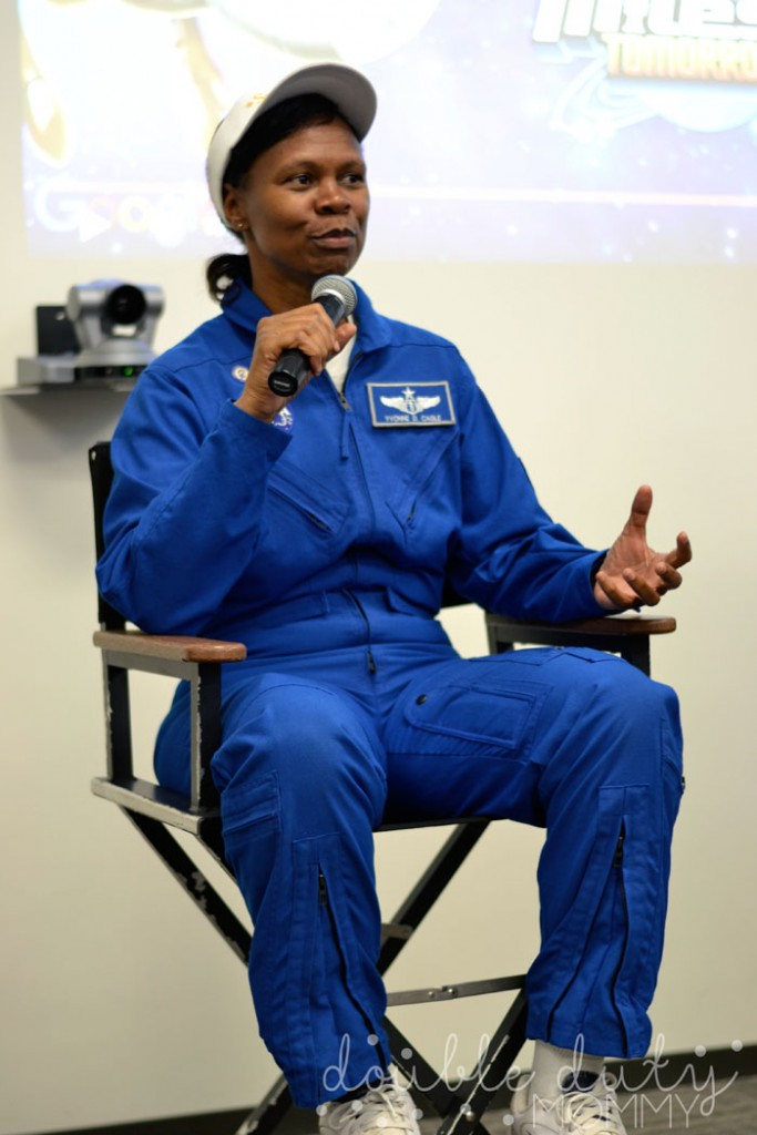 NASA astronaut Dr Yvonne Cagle