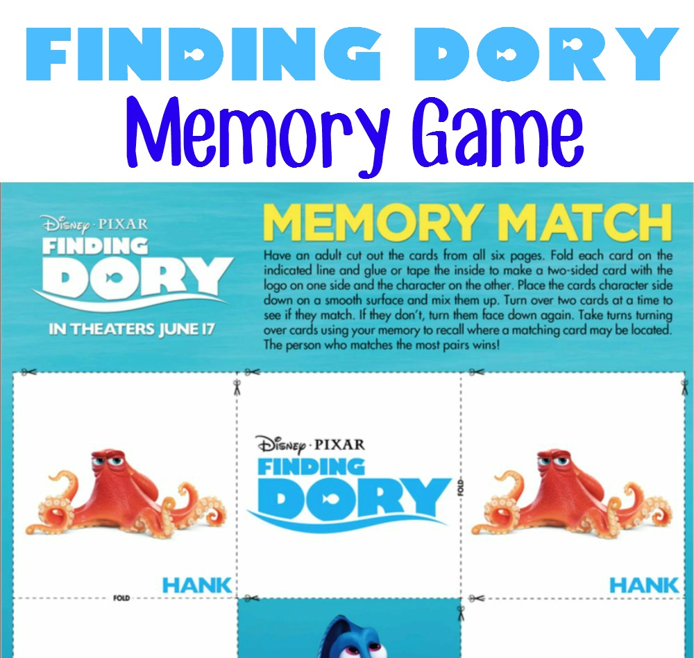 Finding-Dory-Memory-Game
