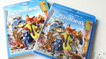 Zootopia on DVD, NEW Zootopia Toys by TOMY + You Can WIN!!