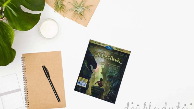 Forget Your Worries! The Jungle Book is on Blu-Ray!