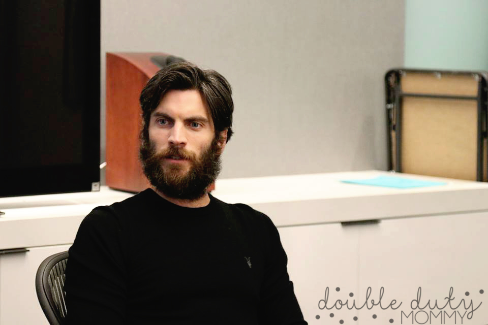 Wes Bentley - Pete's Dragon Event interview