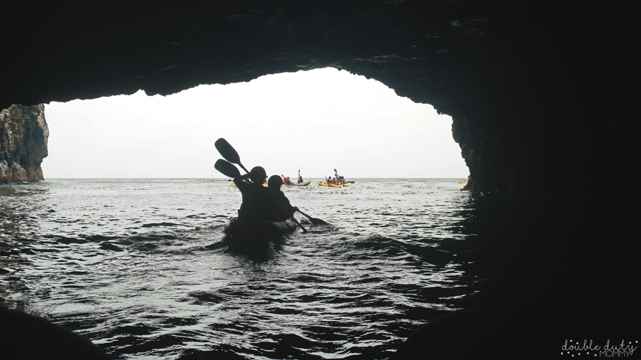 Sea Cave Kayaking at the Channel Islands